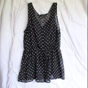 Forever 21 polka dot tank top
